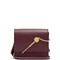 Cocktail stirrer small leather cross-body bag