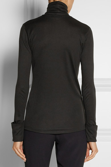 Totême | Courchevel Micro Modal and cashmere-blend turtleneck top | NET-A-PORTER.COM