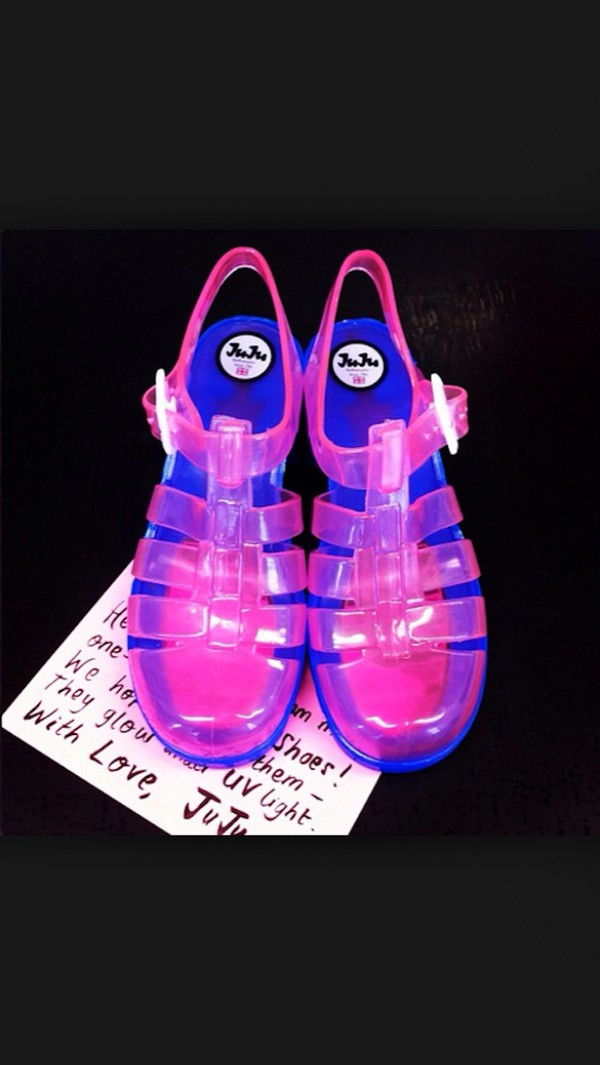 shoes juju jelly shoes