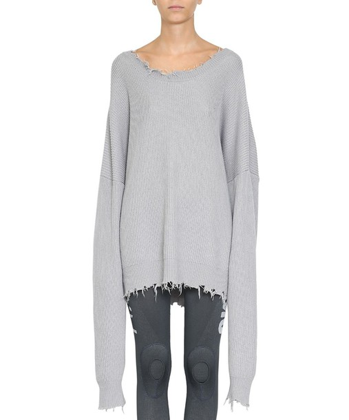 BEN TAVERNITI UNRAVEL PROJECT sweater oversized cotton