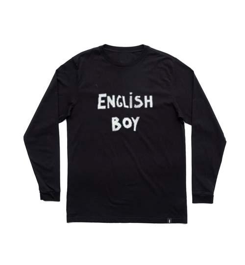 english boy adult Long sleeve T Shirt