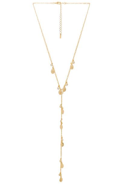 joolz by Martha Calvo necklace metallic gold jewels