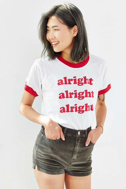 28e9697b shirt, urban outfitters, ringer tee, graphic tee, tumblr, aesthetic ...