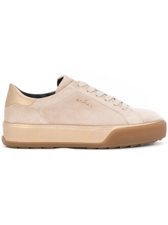 women sneakers low top sneakers leather nude suede shoes