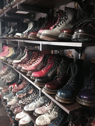 shoes drmartens drmartens boots combat boots ox red