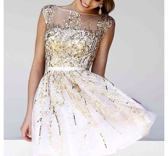 dress prom dress dreamcatcher glitter dress beautiful musthave chiffon short prom dress