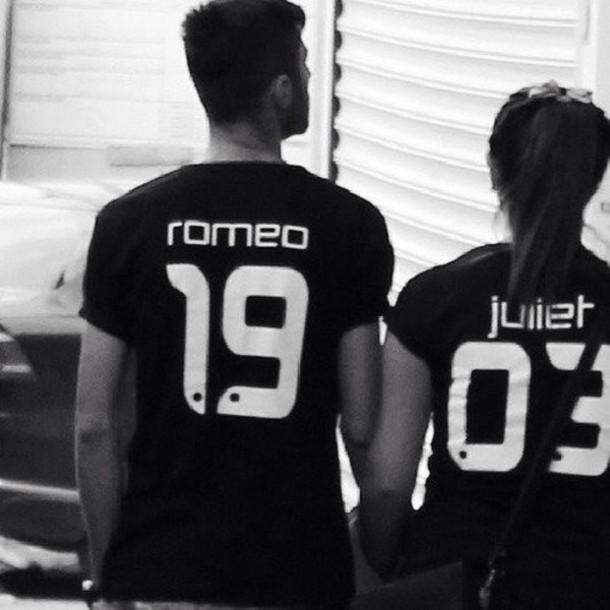 t-shirt t-shirt romeo and juliette
