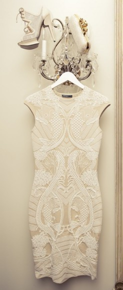 dress nude dress lace short dress lace dress white dress party dress white bodycon dress beautifuldress, partydress, shortdress nude lace dress short party dresses short prom dress