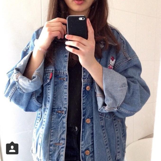 Oversized jacket the best oversized jackets to shop wheretoget - Jeansjacke damen oversize ...