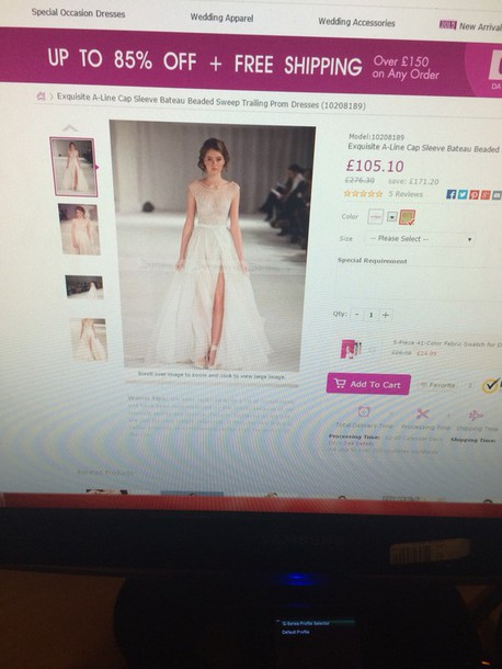 dress runway prom dress champagne dress