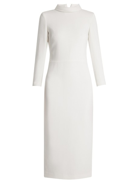 CARL KAPP dress wool white