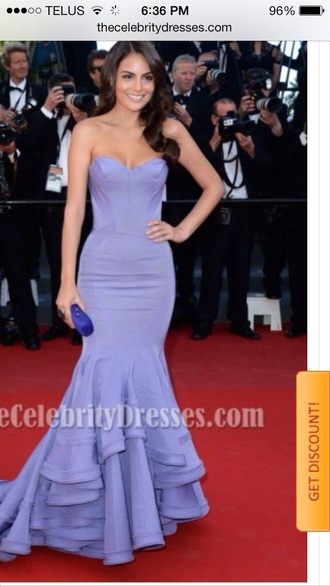 dress zac posen ximena navarette cannes festival lavender prom dresses prom dress mermaid prom dresses prom2014