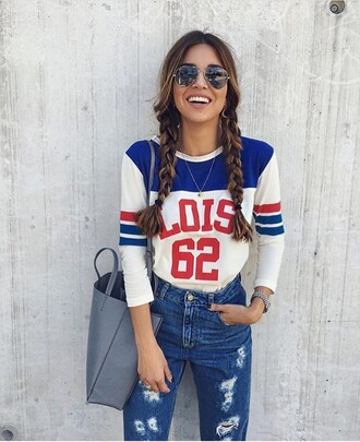 shirt colorful casual jeans girly girl fashion casual t-shirts jersey