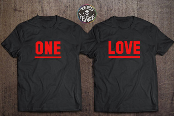 T shirt love black red black t shirt lovely chritmas presents