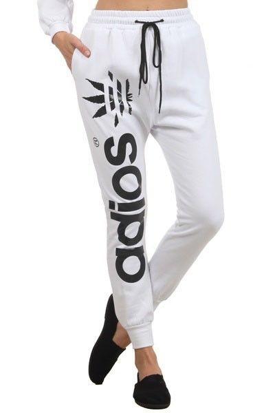 Lethalbeauty ? adios drawstring jogger pants