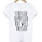 Stressed depressed but well dressed t-shirt - stylecotton