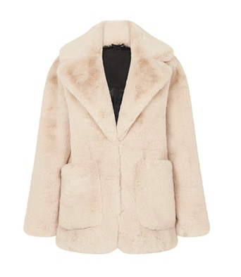 H BRAND Haley Faux Fur in Camel
