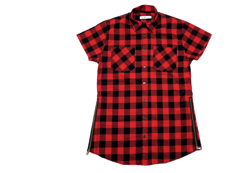 No Brand S/S CHECK SHIRTS
