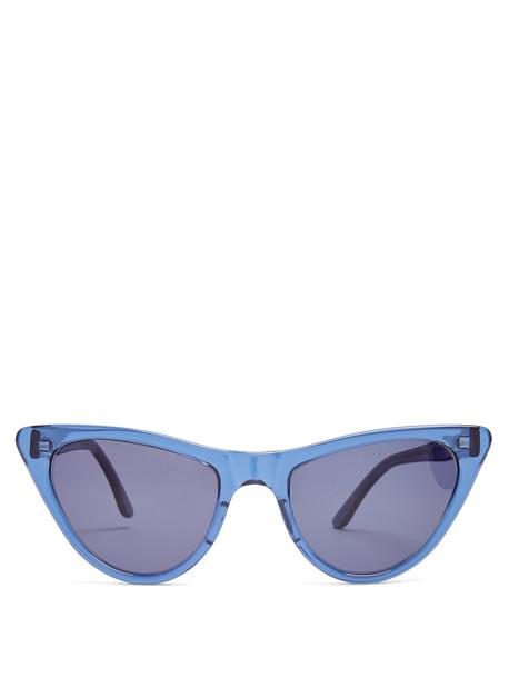 PRISM St Louis acetate sunglasses in blue