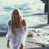 dress,alli simpson,white,beach,summer,bikini,leopard print,instagram,tumblr,celebrity style,swimwear