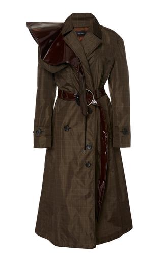 Dual Diagnosis Checked Trench Coat by Ellery | Moda Operandi