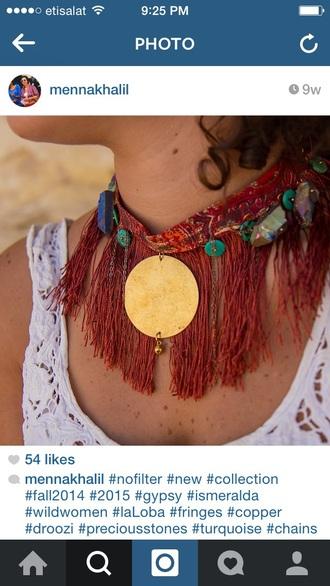 jewels necklace gypsy necklace gypsy sexy unique