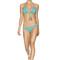 Agua bendita viento bikini set - azul