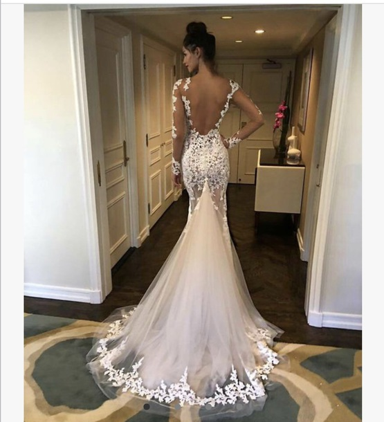 dress white dress lace dress prom dress wedding dress mermaid wedding dress mermaid prom dress