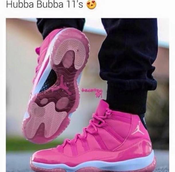 on sale 0ca1b 99831 shoes pink sneakers air jordan air jordan 11 pink jordan 11 s jordan s  jordan 11s pink custom