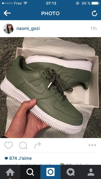 shoes classy nike nike shoes nike air nike sneakers nike air force 1 nike running shoes khaki white green