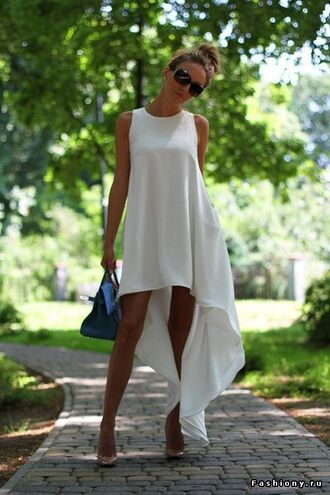 dress all white party white dress summer dress flowy fashion white fashion park event fashion outdoor dress white flowy dress leggings