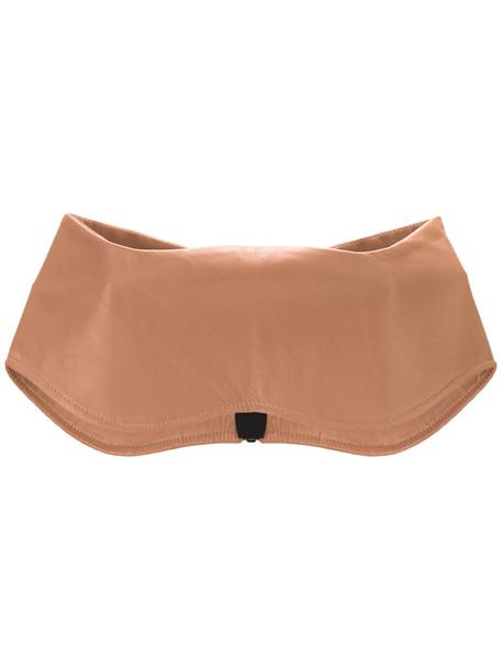 belt leather nude