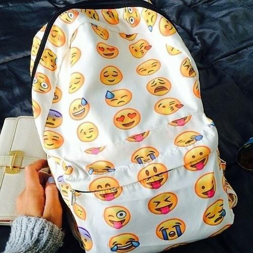 Emoji backpack from fashionferry boutique on storenvy