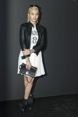 skirt pleated pleated skirt paris jackson fashion week 2017 haute couture fashion week