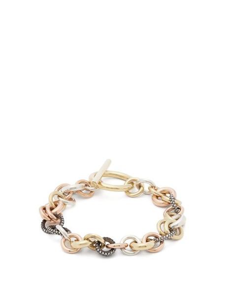 Spinelli Kilcollin - Avalon Diamond & 18kt Gold Bracelet - Womens - Gold
