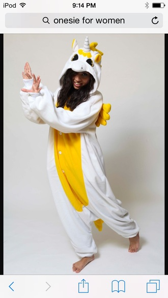 pajamas unicorn onesie