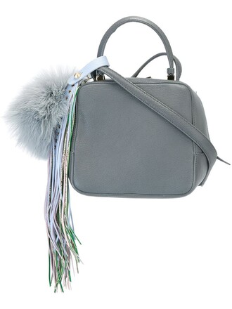 women bag shoulder bag grey