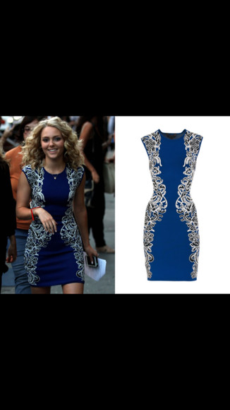 dress carrie bradshaw the carrie diaries blue dress
