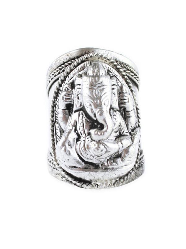jewels ganesha elephant hippie boho bohemian silver ring jewelry jewelry ring gypsy gypset