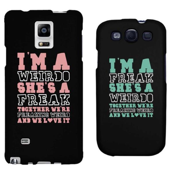 Phone Cover Freak Weirdo Friend Bff Matching Set