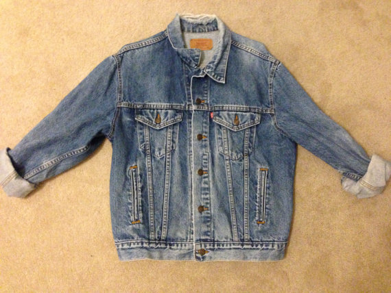 Vintage levi's jean jacket by liftedvintage on etsy