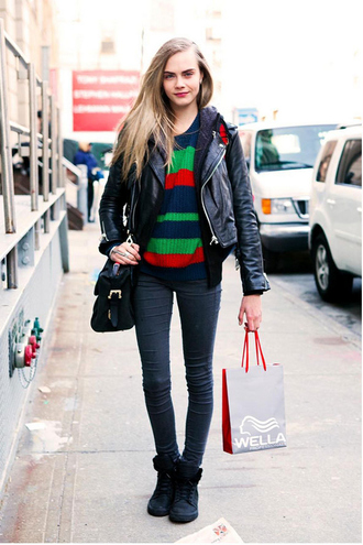 cara delevingne american apparel sneakers boots model hipster