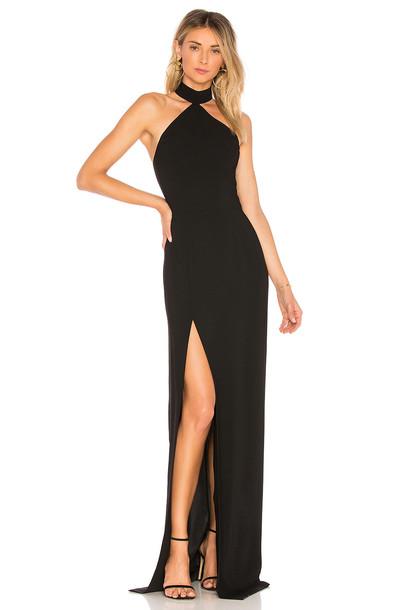 Amanda Uprichard Queen Gown in black