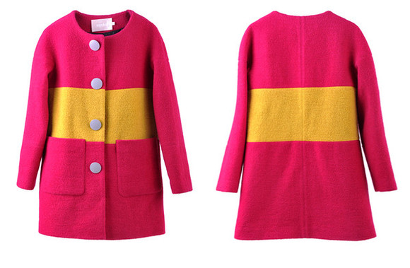 fashion color coat i4out woolen coat look lookbook jacket streetstyle swag girl