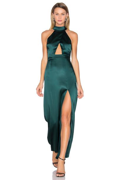 22a38f26cb5 NBD x REVOLVE Zendaya Dress in green - Wheretoget