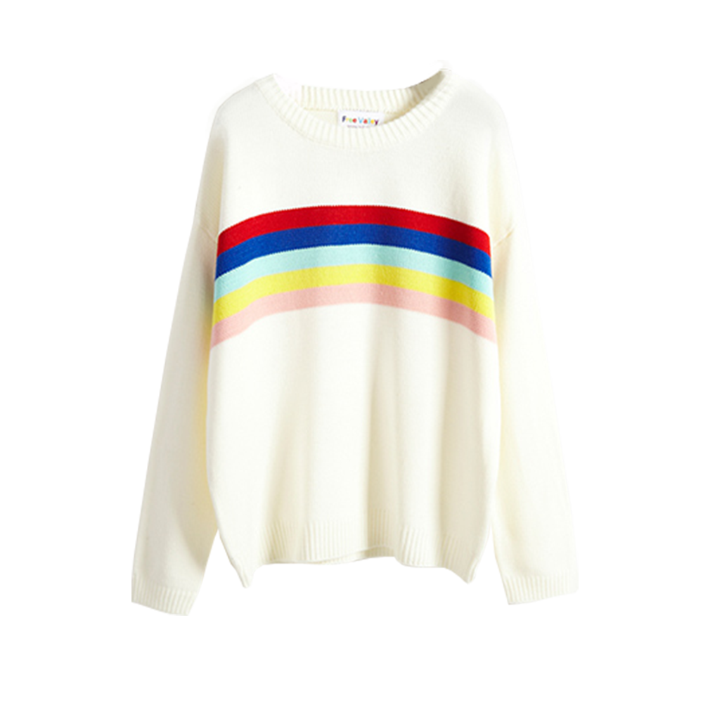 24cabcbb84 Striped rainbow sweater on Storenvy