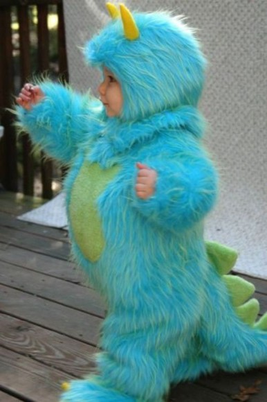 pajamas adorable sully baby costume