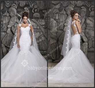 dress wedding dress bridal gown lace bridal gowns