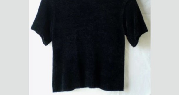 blouse all black everything black crop crop tops