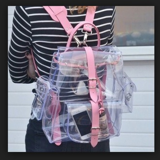 bag clear backpack clear purse clear backpack i need it now